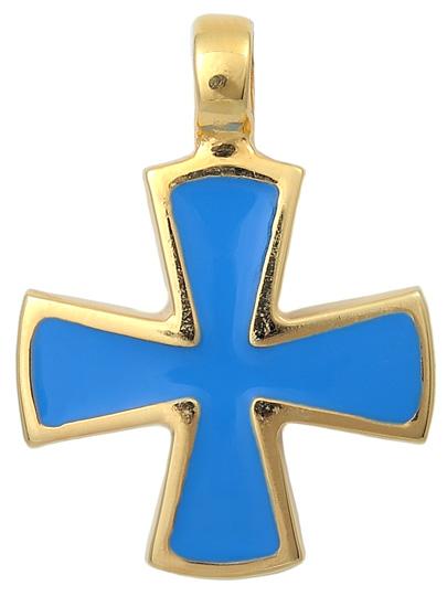 Επίχρυσος σταυρός 925 ASC342A Ασήμι