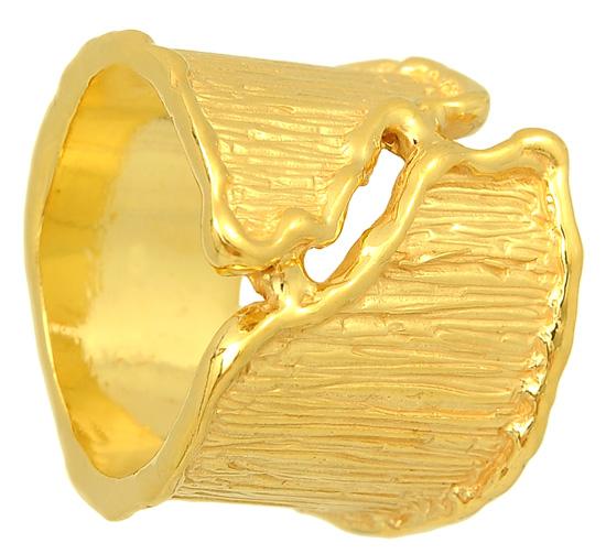 Ασημένιο επιχρυσωμένο δαχτυλίδι 925 ASD142 Ασήμι