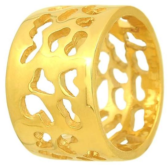 Ασημένιο επίχρυσο δαχτυλίδι 925 ASD147 Ασήμι