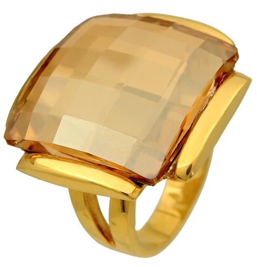 Ασημένιο επίχρυσο δαχτυλίδι 925 ASD274A Ασήμι