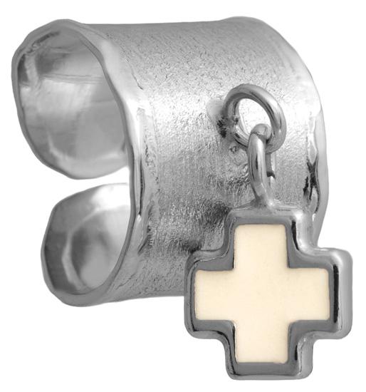 Σεβαλιέ ασημένιο δαχτυλίδι 925 ASD317-1 Ασήμι