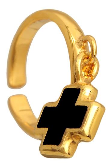 Σεβαλιέ επίχρυσο ασημένιο δαχτυλίδι 925 ASD318-1 Ασήμι