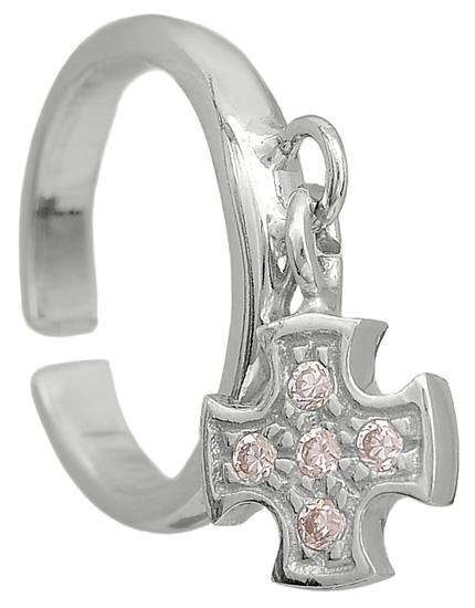 Σεβαλιέ ασημένιο δαχτυλίδι 925 ASD318-13 Ασήμι