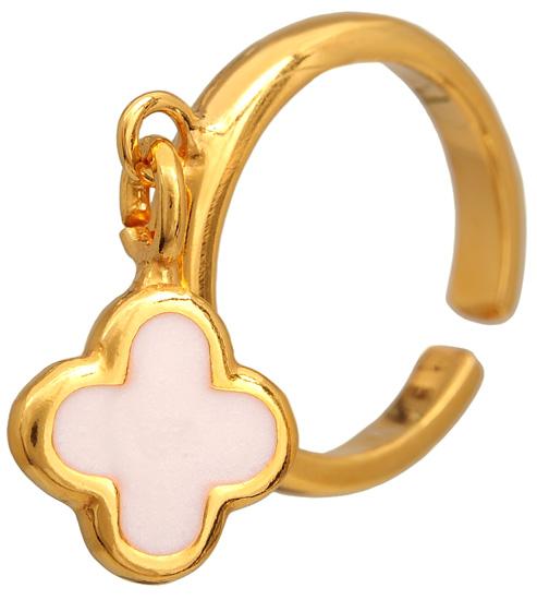 Σεβαλιέ επίχρυσο ασημένιο δαχτυλίδι 925 ASD318-2 Ασήμι