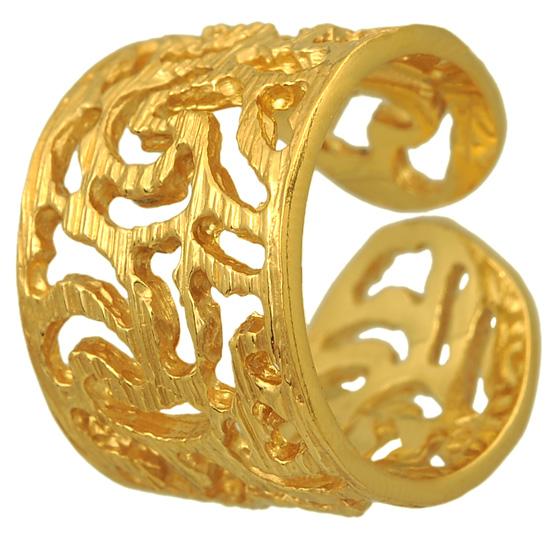 Ασημένιο επίχρυσο δαχτυλίδι 925 ASD329 Ασήμι ασημένια κοσμήματα δαχτυλίδια