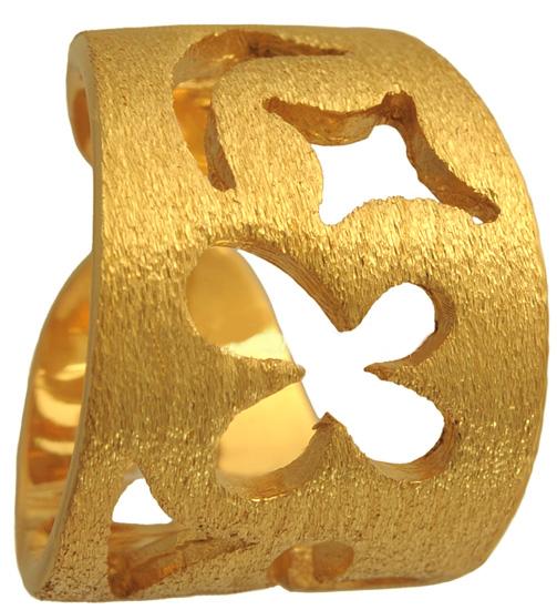 Επίχρυσο ασημένιο δαχτυλίδι 925 ASD367 Ασήμι