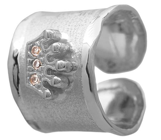 Ασημένιο δαχτυλίδι 925 ASD371-14 Ασήμι