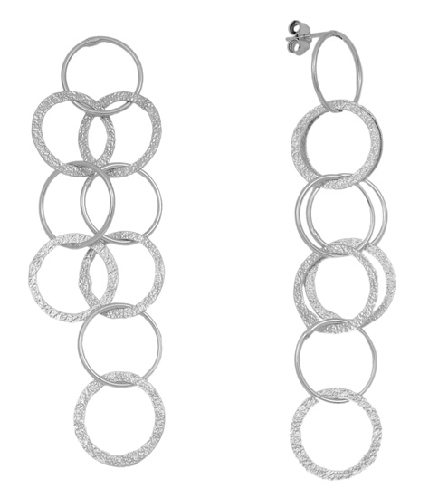 Ασημένια σκουλαρίκια 925 ASS88 Ασήμι