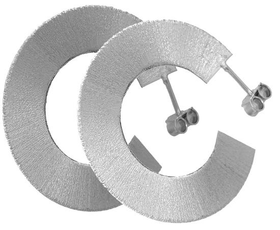 Σκουλαρίκια ασημένια 925 ASS98 Ασήμι