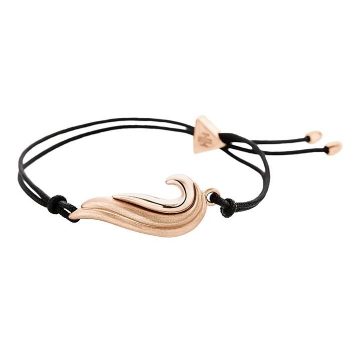 Wave Bracelet Rose gold BB090P BB090P Ορείχαλκος