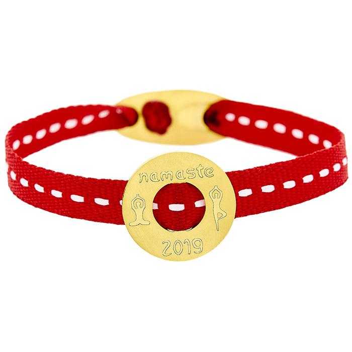 Bracelet NAMASTE YOGA 2019 Yellow BB109Y BB109Y Ορείχαλκος