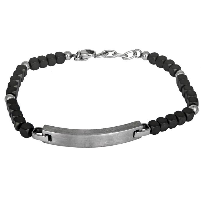 Ανδρικό βραχιόλι ταυτότητα Ascot BG/8661 BG/8661 Ατσάλι fashion jewels ascot βραχιόλια   χειροπέδες