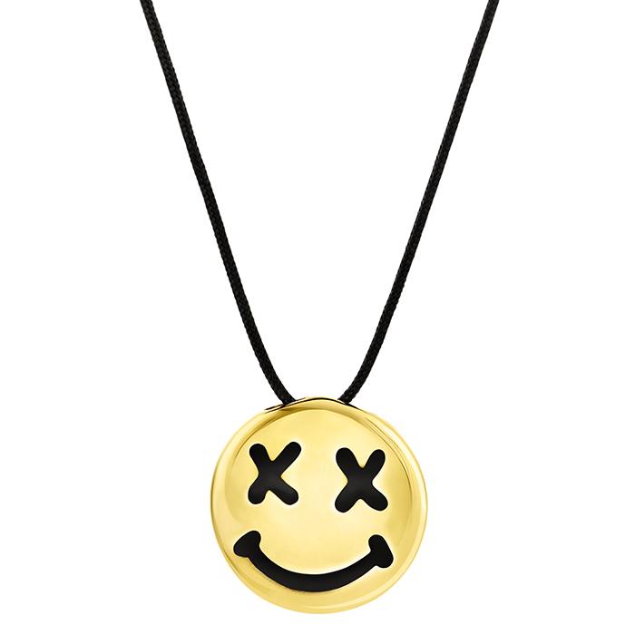 Pendant Honor Smile emoji Gold BP177Y BP177Y Ορείχαλκος