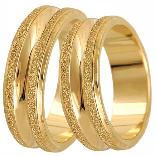 Χρυσή Βέρα 14K BR0313 Χρυσός 14 Καράτια
