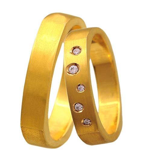 Βέρα χρυσή 14Κ BR0347 Χρυσός 14 Καράτια