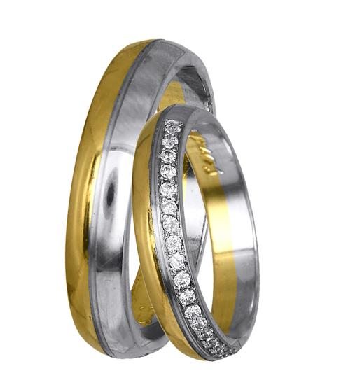 ΒΕΡΕΣ ΑΡΡΑΒΩΝΑ BR0401 Χρυσός 14 Καράτια