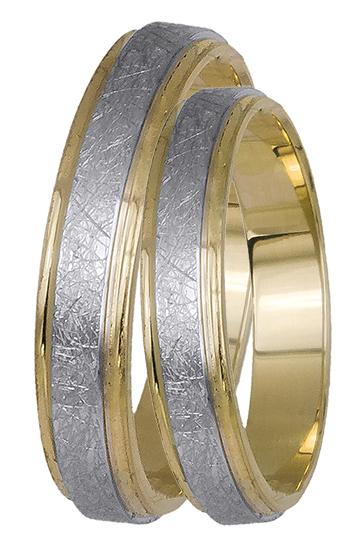 Ματ βέρες γάμου 14Κ BR0438K BR0438K Χρυσός 14 Καράτια