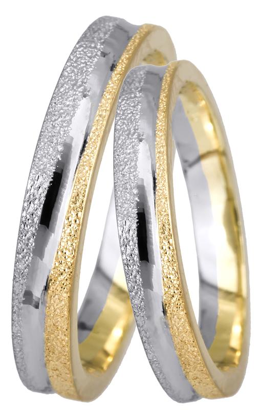 Χειροποίητη βέρα γάμου Κ14 BR0440D BR0440D Χρυσός 14 Καράτια