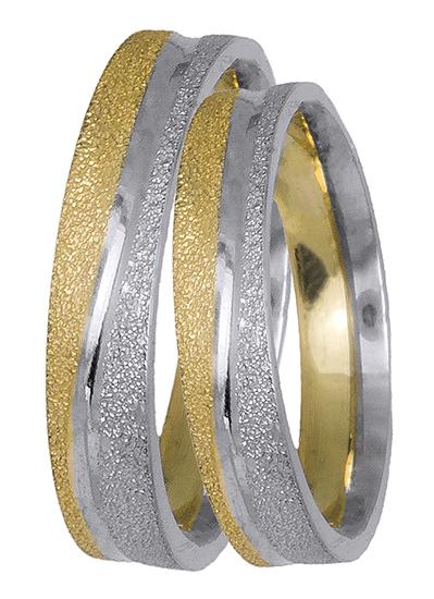 Πρωτότυπες βέρες γάμου BR0441D BR0441D Χρυσός 14 Καράτια