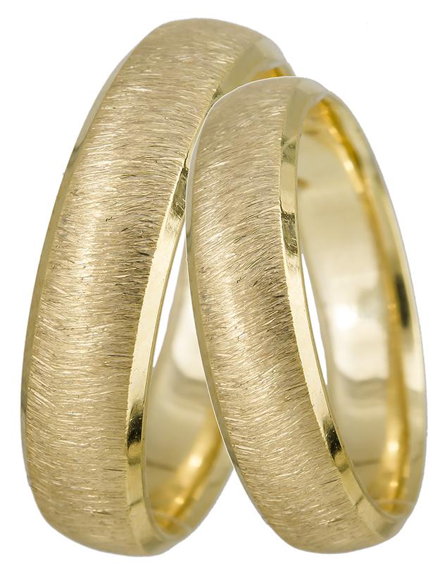 Χρυσές ματ βέρες Κ9 9BRS0800K 9BRS0800K Χρυσός 9 Καράτια