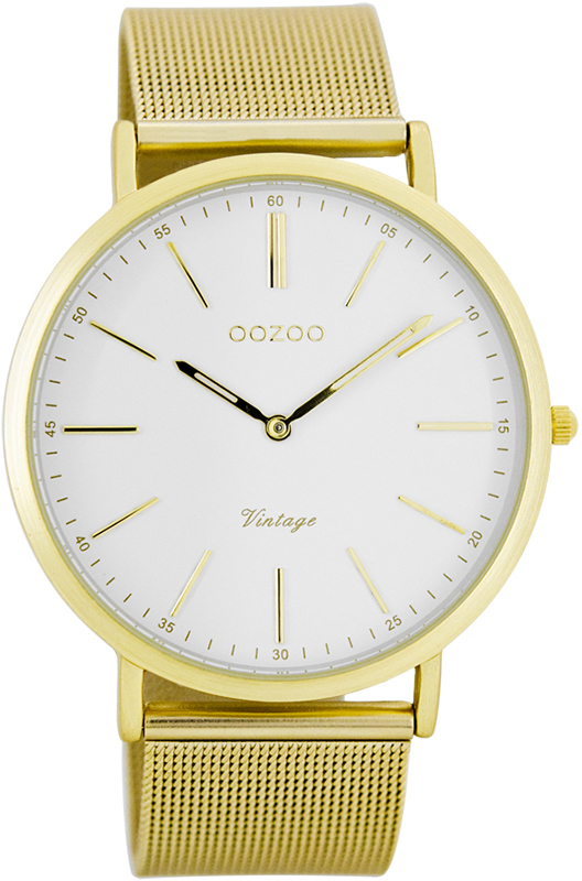Επίχρυσο ρολόι OOZOO bracelet Vintage C7389 C7389