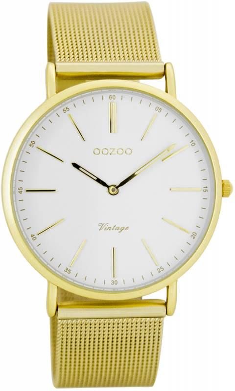Γυναικείο ρολόι με μπρασελέ Timepieces vintage OOZOO C7397 C7397