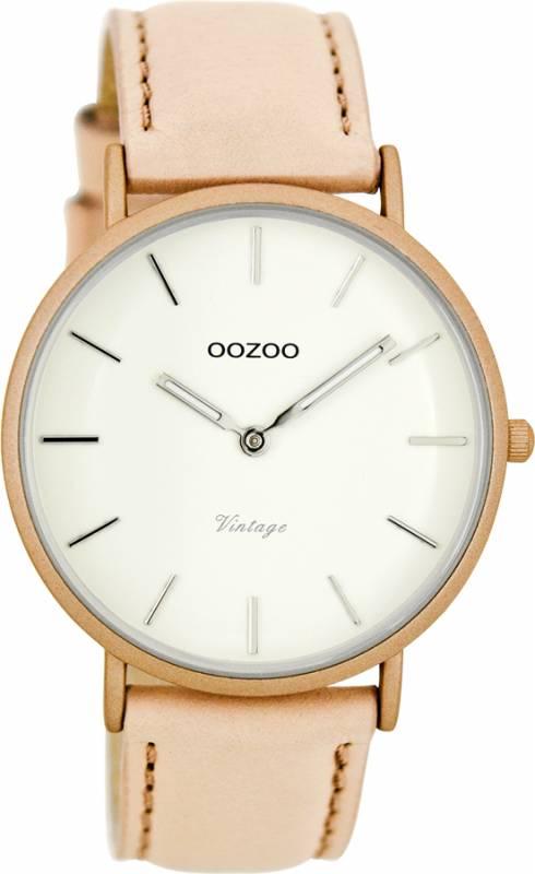 Γυναικείο OOZOO ρολόι Vintage rosegold C7737 C7737