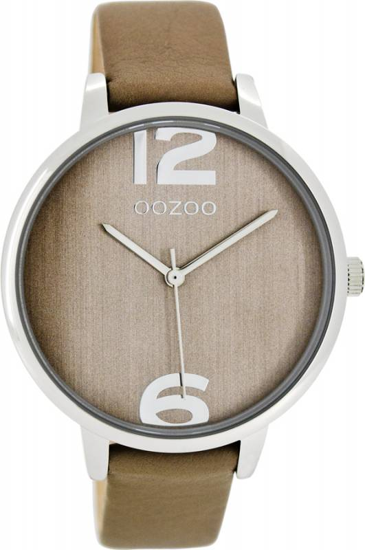 Γυναικείο ρολόι OOZOO Timepieces Brown Leather strap C7972 C7972