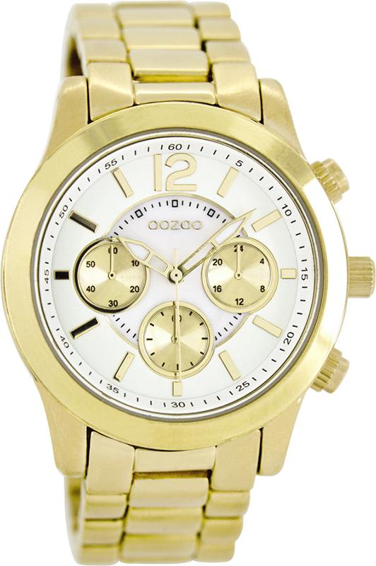 Επίχρυσο γυναικείο ρολόι OOZOO Bracelet C8412 C8412
