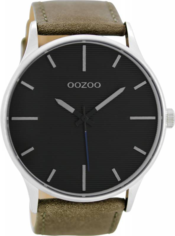 Αντρικό ρολόι OOZOO Brown Leather Strap C8551 C8551