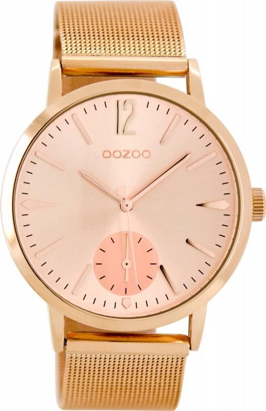 Ρολόι γυναικείο OOZOO Rose gold bracelet C8614 C8614