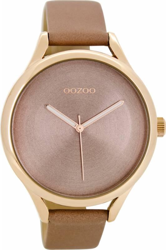 Γυναικείο ρολόι OOZOO Brown leather strap C8632 C8632
