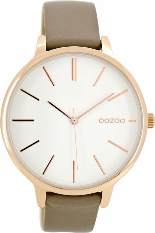 Ρολόι γυναικείο OOZOO Brown leather Strap C8672 C8672