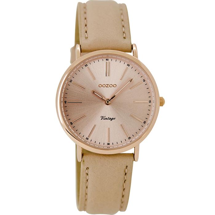 Γυναικείο ρολόι OOZOO vintage pink C8821 C8821