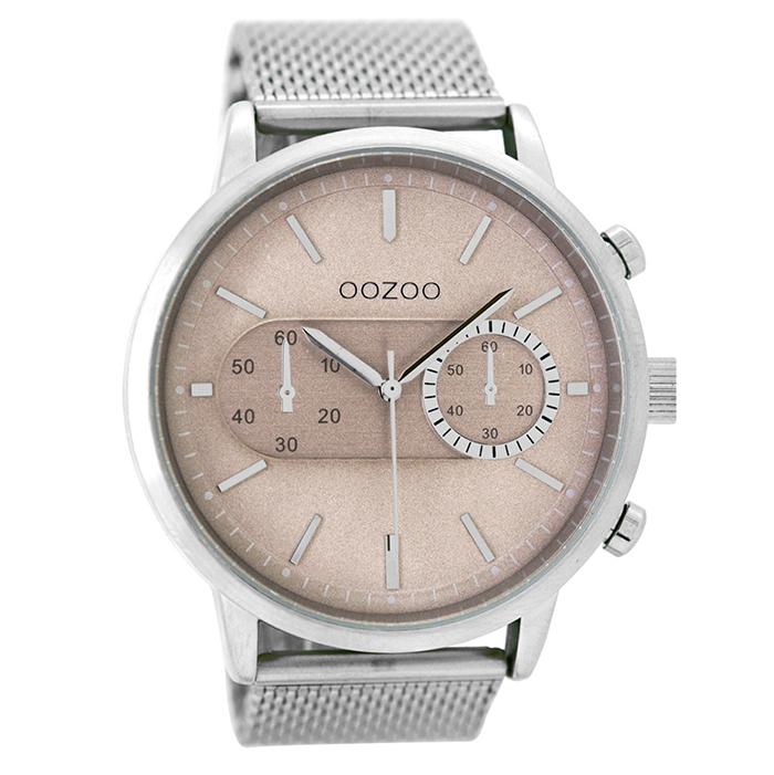 Αντρικό ρολόι OOZOO Silver Metallic bracelet C9071 C9071