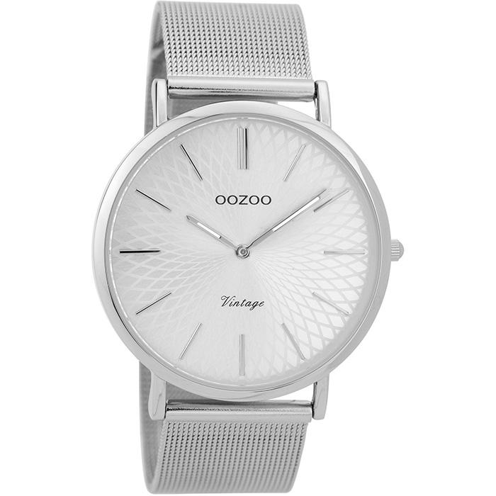 Γυναικείο ρολόι OOZOO Silver bracelet C9340 C9340
