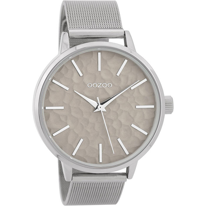 Ρολόι OOZOO Silver metallic bracelet C9571 C9571