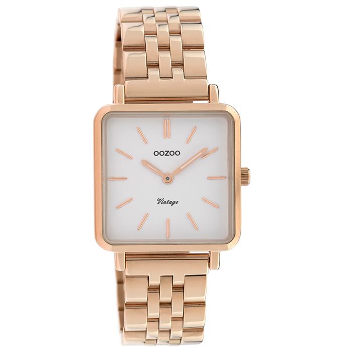 OOZOO ρολόι Ροζ Gold Bracelet Black C9958 C9958