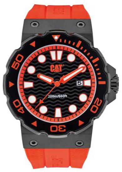 Αντρικό Cat ρολόι D516128128 D516128128 Ατσάλι