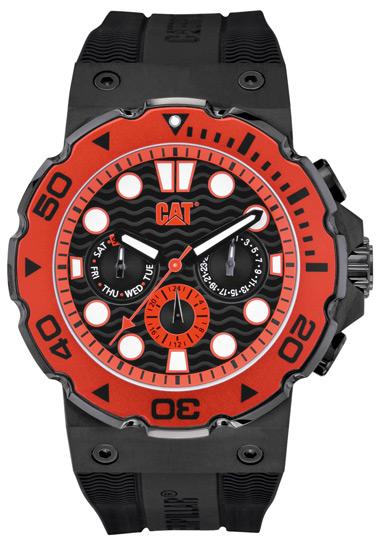 Cat ανδρικό ρολόι D516321128 D516321128 Ατσάλι