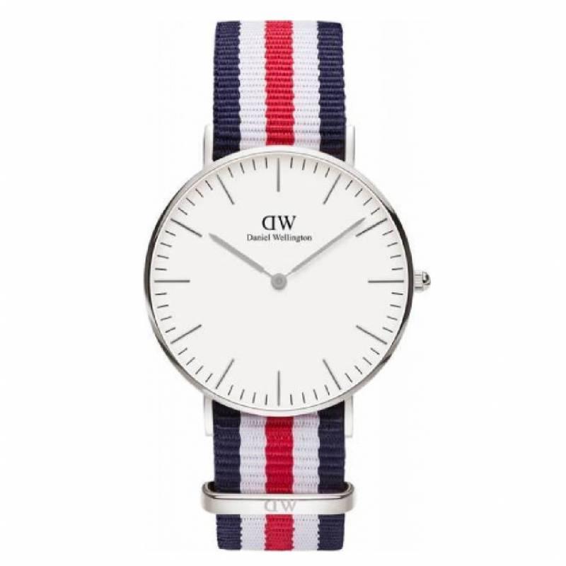 Ρολόι Classic Canterbury Silver 36,00mm DW00100051 DW00100051 Ατσάλι