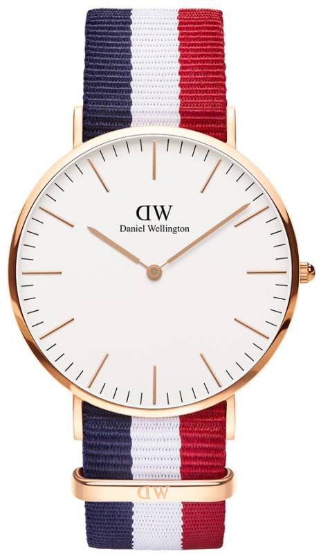 Ρολόι Daniel Wellington Classic Cambridge Rose gold 40,00mm 0103DW 0103DW Ατσάλι