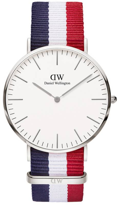 Ρολόι χειρός Daniel Wellington Classic Cambridge Silver 40,00mm 0203DW 0203DW Ατσάλι