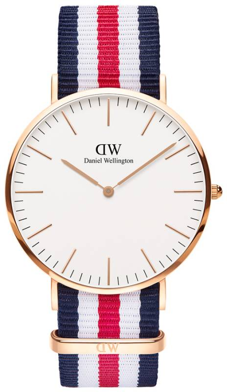Ρολόι Daniel Wellington Classic Canterbury Rose gold 40,00mm 0102DW 0102DW Ατσάλι