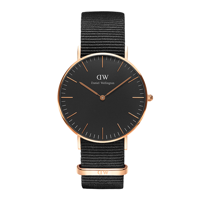 Daniel Wellington Black edition Classic Cornwall DW00100150 DW00100150 Ατσάλι