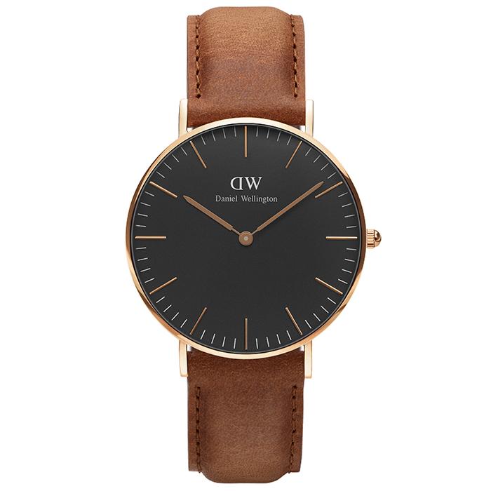 Daniel Wellington Black Edition Classic Durham 36,00mm DW00100138 DW00100138 Ατσάλι