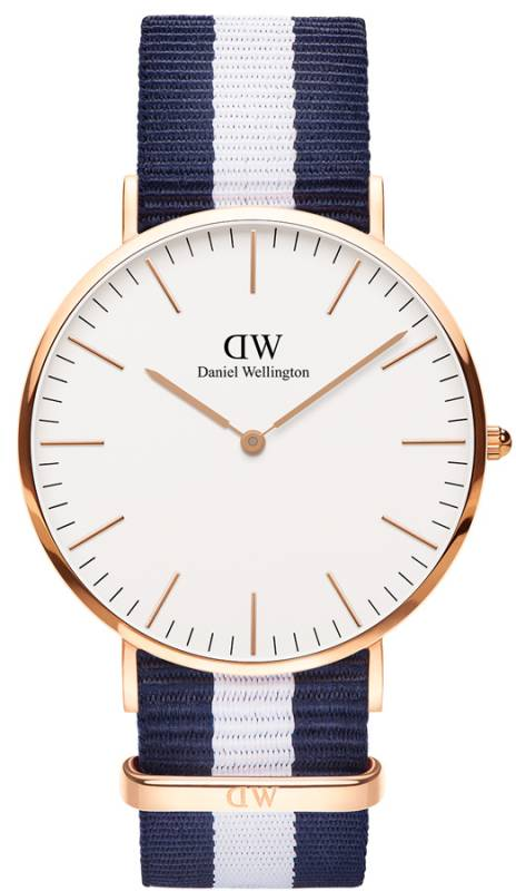 Daniel Wellington Classic Glasgow Rose gold 40,00mm ρολόι 0104DW 0104DW Ατσάλι