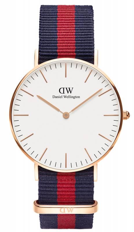 Ρολόι γυναικείο Daniel Wellington Classic Oxford Rose gold 36,00mm 0501DW 0501DW Ατσάλι