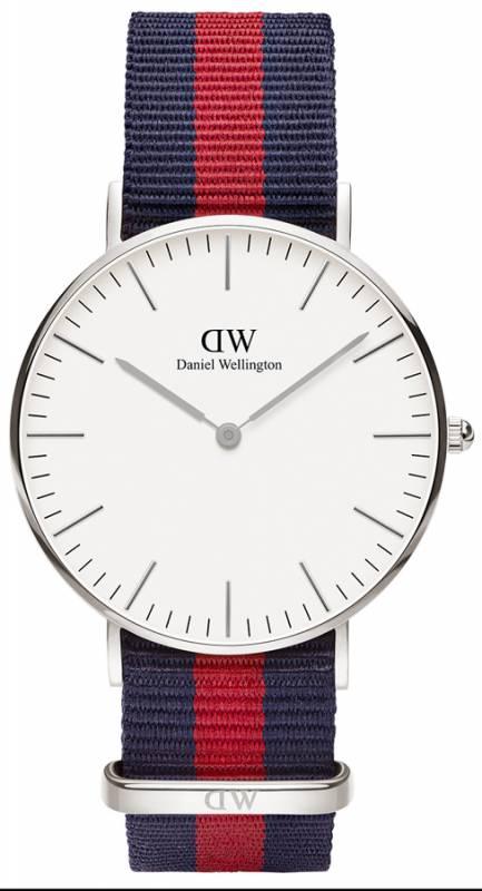 Ρολόι Daniel Wellington Classic Oxford Silver 36,00mm 0601DW 0601DW Ατσάλι