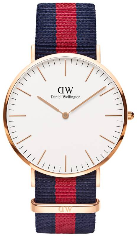 Ρολόι χειρός Daniel Wellington Classic Oxford Rose gold 40,00mm 0101DW 0101DW Ατσάλι